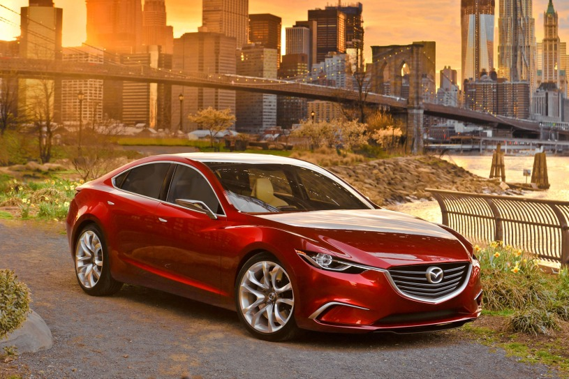 2014 Mazda 6 Will Be Based on Takeri Concept