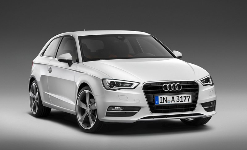 2013 Audi A3 Pictures Leaked