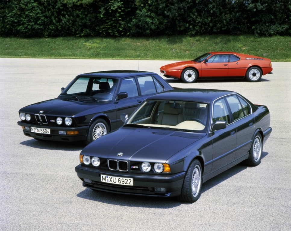 BMW M Celebrates 40 years of Existence
