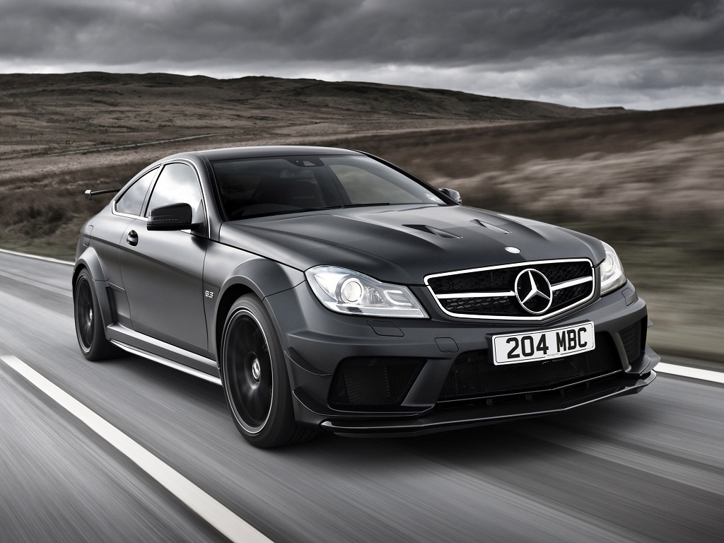 Mercedes benz c63 amg black series promo video for Mercedes benz amg 6 3