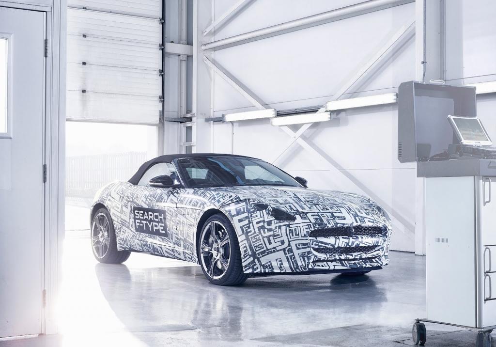 Jaguar Announces New F-Type