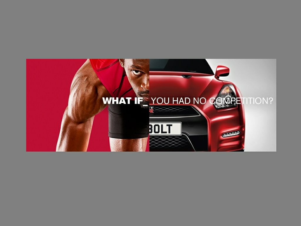 Nissan GT-R and Usain Bolt Feature on Nissan Brand Campaign