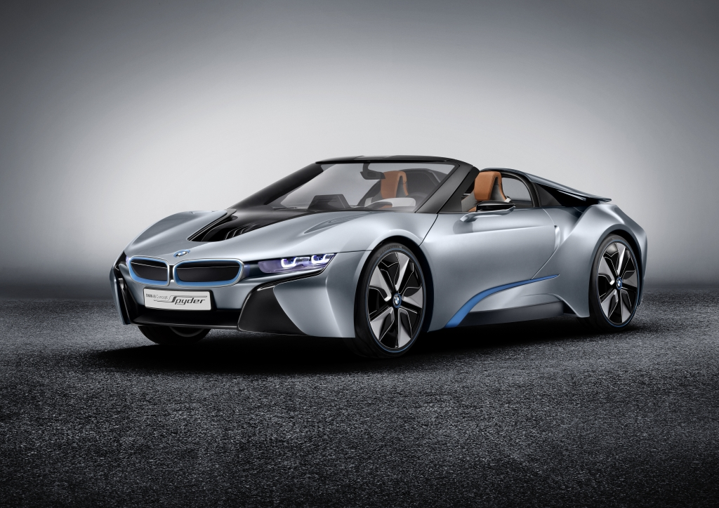 The BMW i8 Concept Goes Topless