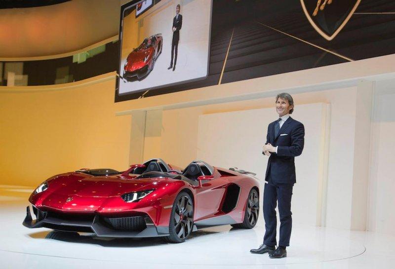"""Lamborghini Aventador J (pronounced """"Yoh-tah"""")"""