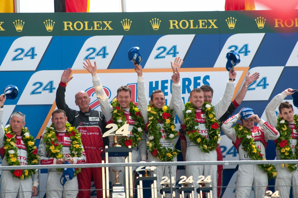 Historic Win for Audi R18 e-tron at Le Mans